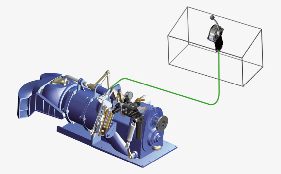 Water-Jet propulsion control systems - waterjet propulsion system