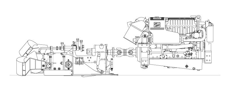 CUMMINS 340 HC